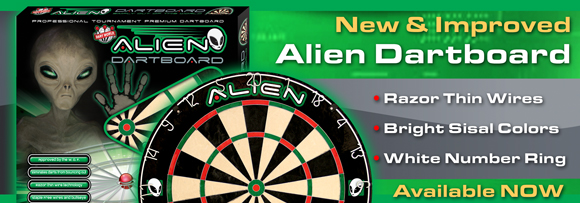Alien Dartboards - Bristle Steel Tip Dartboards