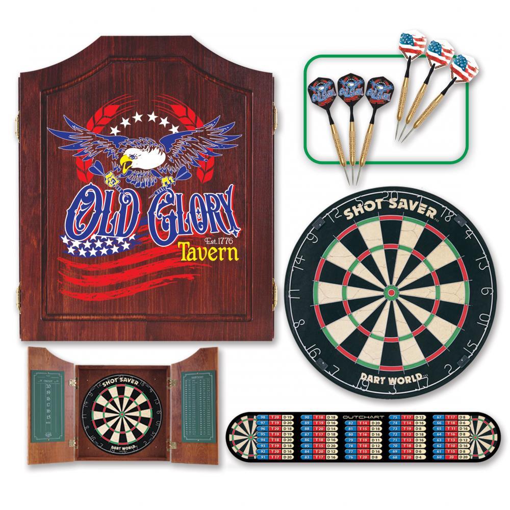 Old Glory Dart Cabinet Kit