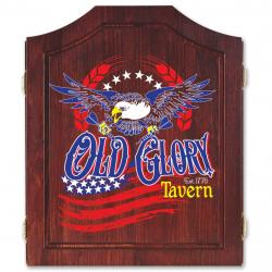 Old Glory Tavern Dart Cabinet47210