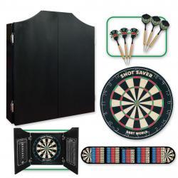 Black Cabinet Darts Kit