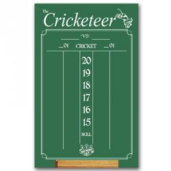 Cricketeer Large Green Chalk Scoreboard 47505