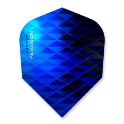 Harrows Paragon Black & Blue Dart Flights 1252
