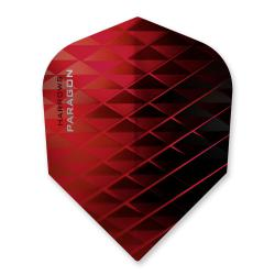 Harrows Paragon Black & Red Dart Flights 1253