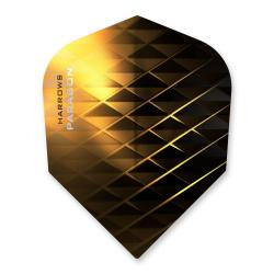 Harrows Paragon Black & Gold Dart Flights 1256