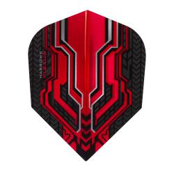 Harrows Plexus Red Standard Dart Flights 1331