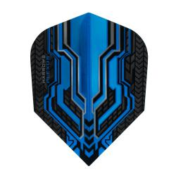 Harrows Plexus Blue Standard Dart Flights 1334