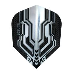 Harrows Plexus Clear and Black Standard Dart Flights 1335