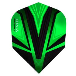 Harrows Vivid Green Standard Dart Flights 3201