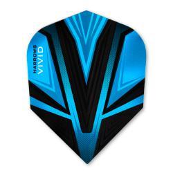 Harrows Vivid Blue Standard Dart Flights 3202