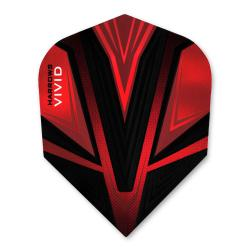 Harrows Vivid Red Standard Dart Flights 3204