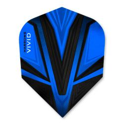 Harrows Vivid Dark Blue Standard Dart Flights 3206