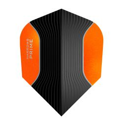 Harrows Prime Black and Orange Standard Dart Flights 4104