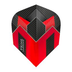 Harrows Prime Red And Black Standard Dart Flights 4107
