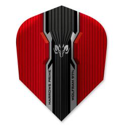 Harrows Prime Wolfram Red Standard Dart Flights 4110