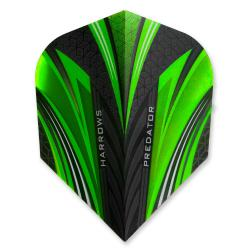Harrows Prime Predator Green Standard Dart Flights 4118