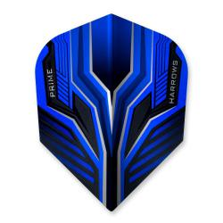 Harrows Prime Vice Black and Blue Standard Dart Flights