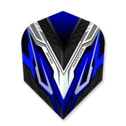 Harrows Prime Vespa Black and Blue Standard Dart Flights
