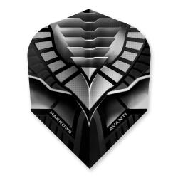 Harrows Avanti Black & Smokey Dart Flights 4305