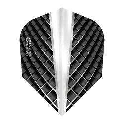 Harrows Quantum Black and Clear Standard Dart Flights 5666