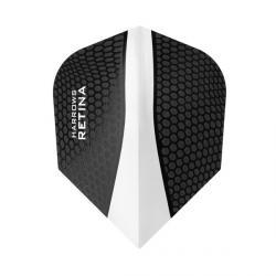 Retina Standard Clear & Black 8302