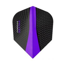 Retina Standard Black & Purple 8304