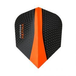 Retina Standard Black & Orange 8305