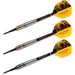 Saru King Revolution 21 gr Soft Tip Darts 16687