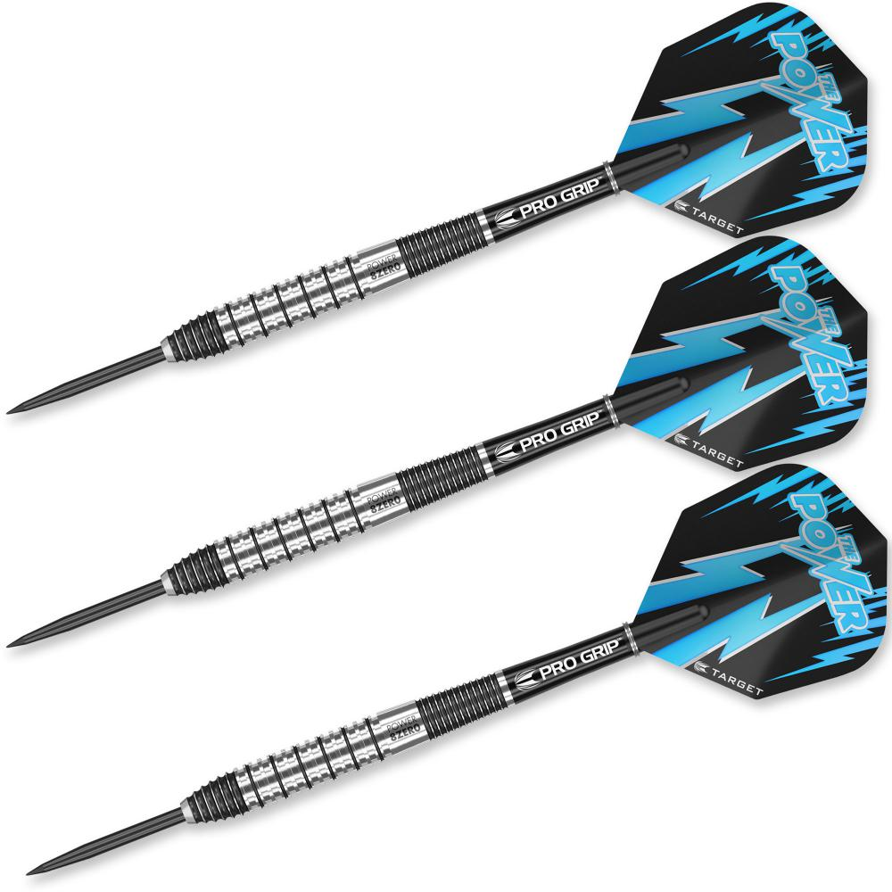 Power 8Zero 26g Steel Tip Darts 93063